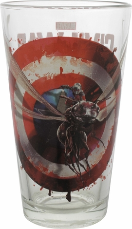 Captain America Civil War Ant-Man TT Pint Glass
