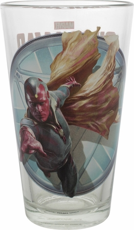 Captain America Civil War Vision Pint Glass