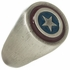Captain America Logo Brushed Signet Ring