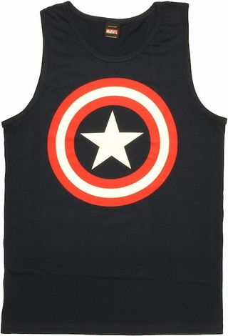 Captain America Shield Tank Top