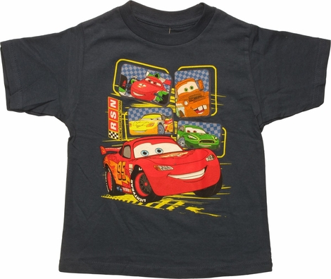 Cars 5 Characters RSN Toddler T-Shirt