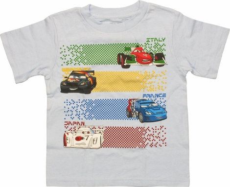Cars International Cars and Bars Toddler T-Shirt