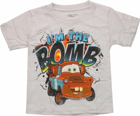 Cars Mater Bomb Gray Toddler T Shirt