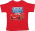 Cars McQueen American Muscle Infant T Shirt
