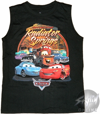 Cars Radiator Youth T-Shirt