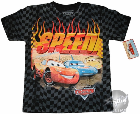 Cars Speed Juvenile T-Shirt