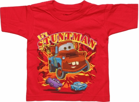 Cars Tow Mater Lil Stuntman Toddler T-Shirt