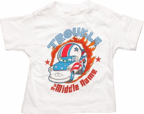 Cars Trouble is My Middle Name Infant T-Shirt