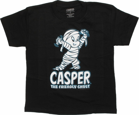 Casper the Friendly Ghost Mummied Juvenile T-Shirt