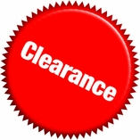 Clearance Last Chance Items