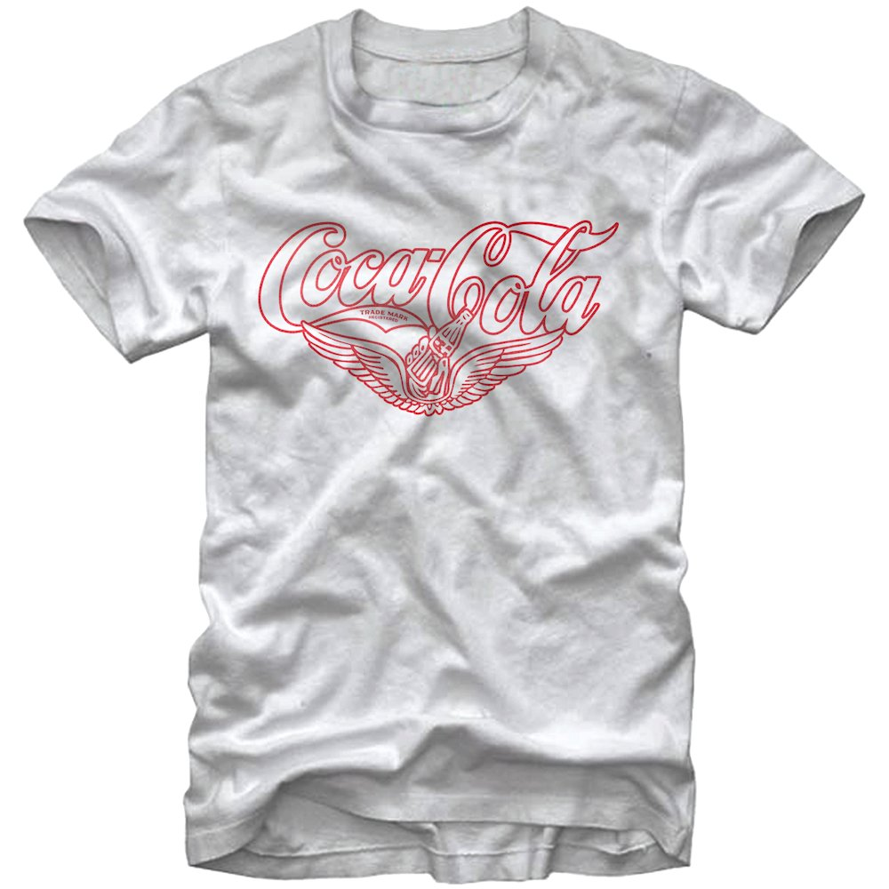 coca cola vintage wings t shirt. Black Bedroom Furniture Sets. Home Design Ideas
