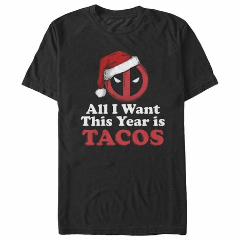Deadpool All I Want is Tacos T-Shirt