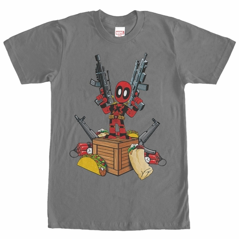 Deadpool All the Things T-Shirt