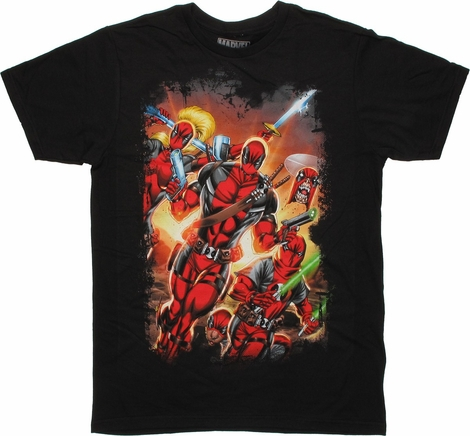 Deadpool Corps #12 Comic Cover T-Shirt Sheer