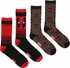Deadpool Face 2 Pack Crew Socks Set