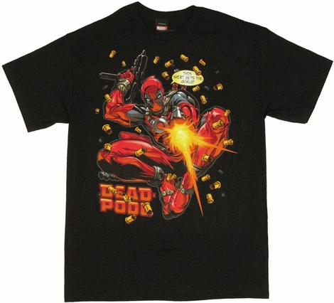 Deadpool Girls T Shirt
