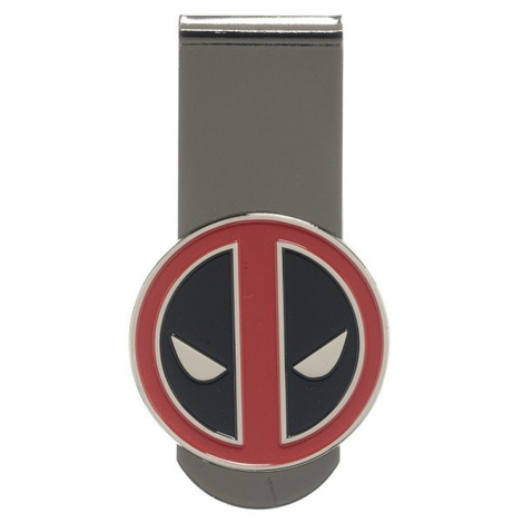 Deadpool Logo Metal Money Clip