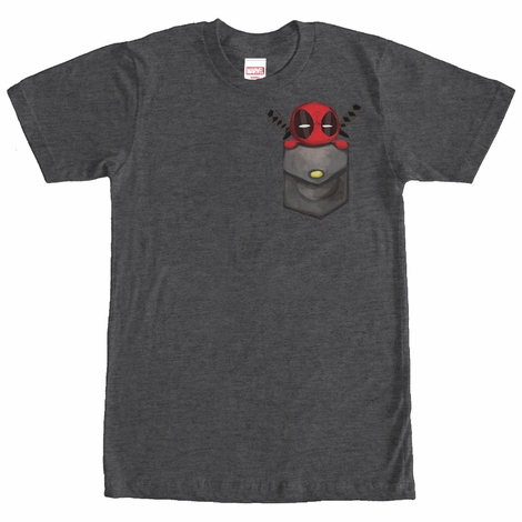 Deadpool Pocket Toon T-Shirt
