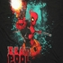 Deadpool Splatter Shot T Shirt Sheer