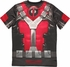 Deadpool Sublimated Costume T Shirt Sheer