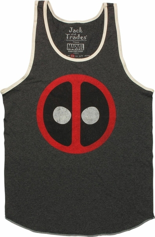 Deadpool Vintage Logo Tank Top