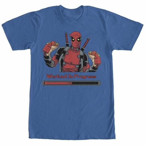 Deadpool Workout In Progress T-Shirt