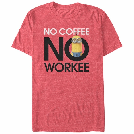 Despicable Me Coffee First T-Shirt