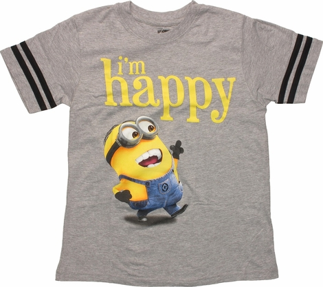 Despicable Me I'm Happy Youth T-Shirt