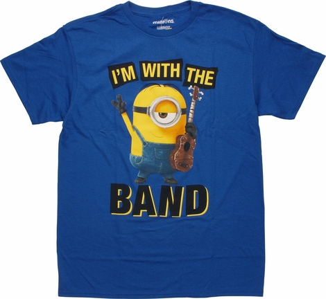 Despicable Me Minions I'm with the Band T-Shirt