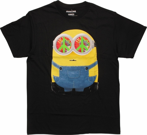 Despicable Me Minions Peace Out T-Shirt