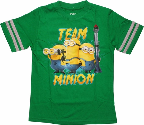 Despicable Me Team Minion Juvenile T-Shirt