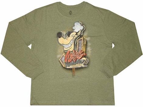 Disney Bad Wolf Diner Long Sleeve T-Shirt