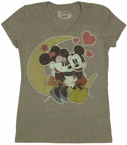 Disney Mickey Minnie Love Baby Tee