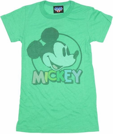 Disney Mickey Name Baby Tee