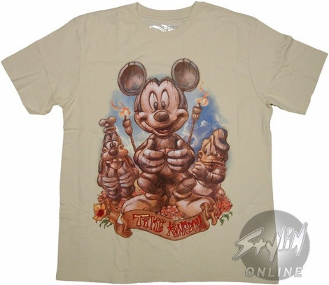 Disney Mickey Tiki T-Shirt