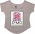 Domo Kun Flower Print Ladies Tee