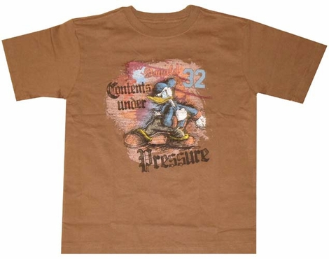 Donald Duck Contents Youth T-Shirt