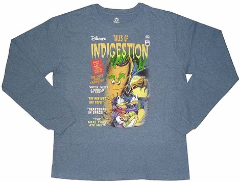 Donald Tales of Indigestion Long Sleeve T-Shirt