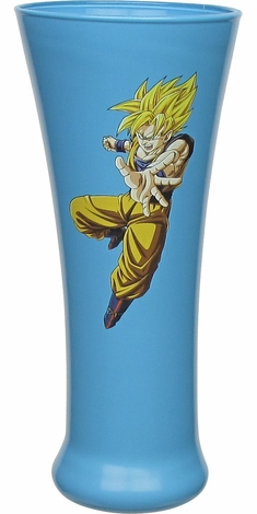 Dragon Ball Super Saiyan Goku Fluted Glass
