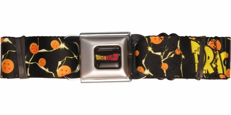 Dragon Ball Z Bolt Balls Seatbelt Belt