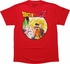 Dragon Ball Z Goku Cell Frieza and Buu T-Shirt
