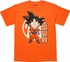 Dragon Ball Z Goku Chibi with Kanji T-Shirt