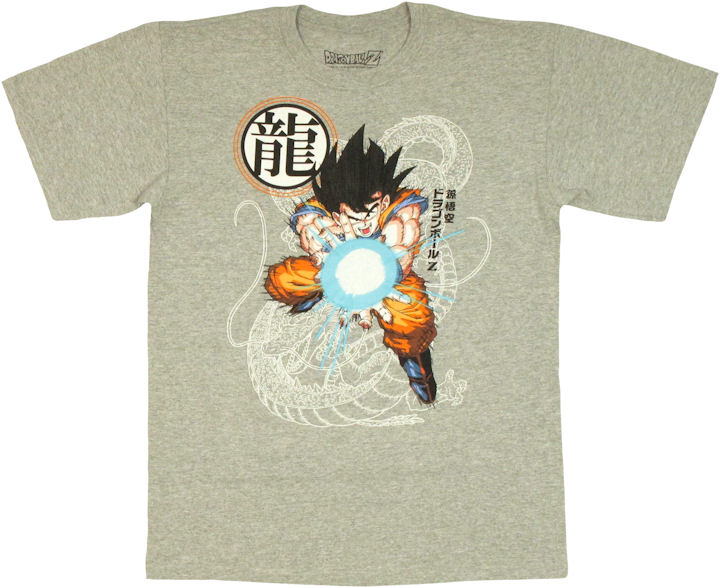 dragon ball z goku kamehameha t shirt. Black Bedroom Furniture Sets. Home Design Ideas