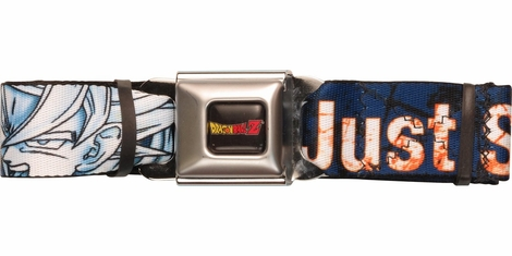 Dragon Ball Z Just Saiyan Blast Seatbelt Belt