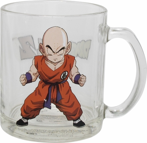 Dragon Ball Z Name Krillin Stance Glass Mug