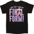 Dragon Ball Z Not My Final Form T-Shirt