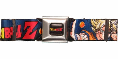 Dragon Ball Z Super Four Seatbelt Belt
