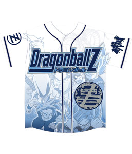 Dragon Ball Z White Jersey