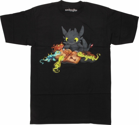 DreamWorks Dragons Toothless Manual T-Shirt