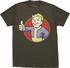 Fallout Vault Boy Red Circle Heather T-Shirt